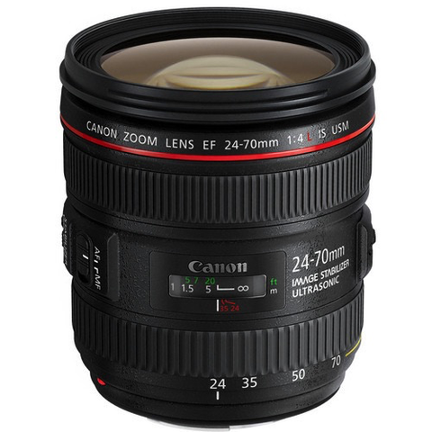 Canon EF 24-70mm f/4L IS USM by Canon at B&C Camera