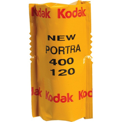 Kodak Professional Portra 400 Color Negative Film (120 Roll)