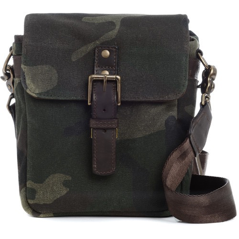 ONA Bond Street Waxed Canvas Camera Bag (Camouflage) by ONA BAGS at B&C Camera