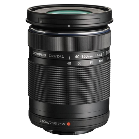 Olympus M.Zuiko Digital ED 40-150mm f/4.0-5.6 R Lens (Black) by Olympus at B&C Camera