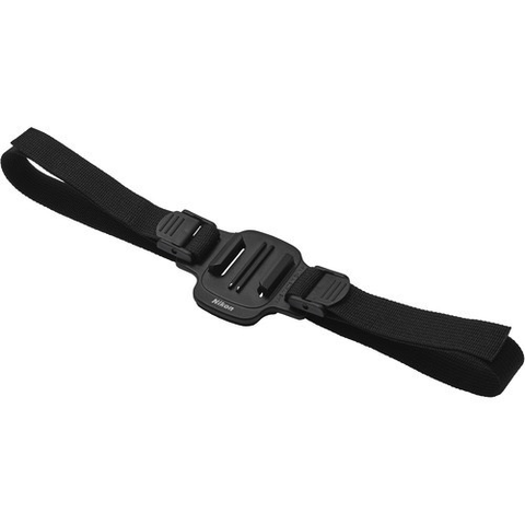 Nikon Vented Helmet Strap Mount for KeyMission Action Cameras by Nikon at bandccamera