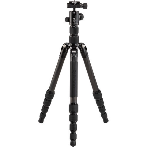 Benro Tripster Travel Tripod (0 Series, Black, Carbon Fiber)