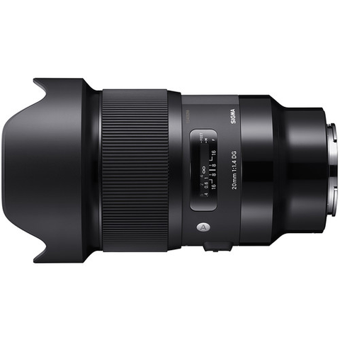 Sigma 20mm f/1.4 DG HSM Art Lens for Sony E