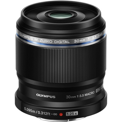 Olympus M.Zuiko Digital ED 30mm f/3.5 Macro Lens by Olympus at B&C Camera