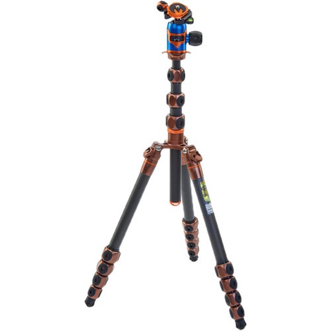 3 Legged Thing Legends Bucky Tripod with AirHed VU Ball Head Kit (Bronze/Blue)