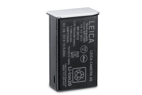 Leica BP-DC13 Lithium Ion Battery for Leica T (Silver) - B&C Camera - 1