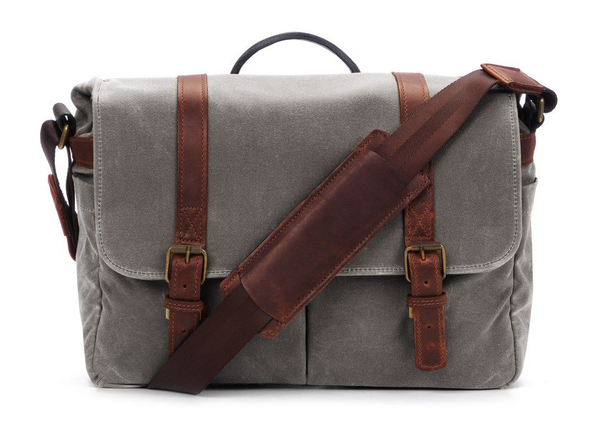 ONA The Brixton Messenger Bag (Smoke) - B&C Camera - 1
