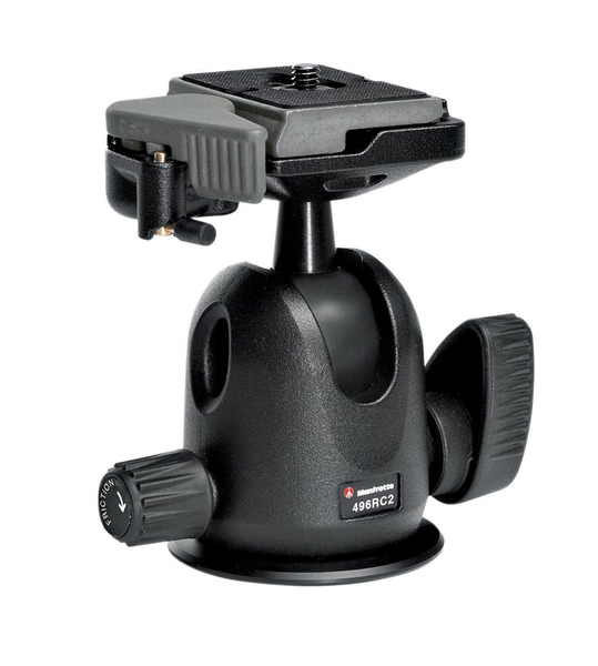 Manfrotto Compact Ball Head with RC2 Quick Release - B&C Camera