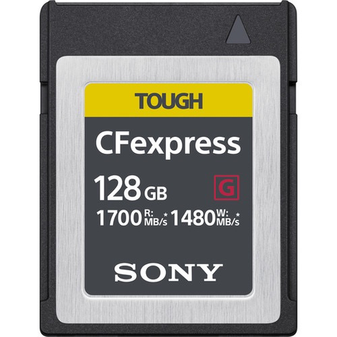 Sony 128GB CFexpress Type B TOUGH Memory Card
