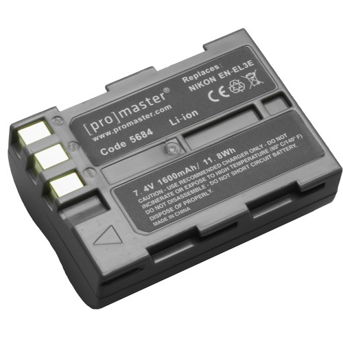 Promaster EN-EL3E Lithium Ion Battery for Nikon