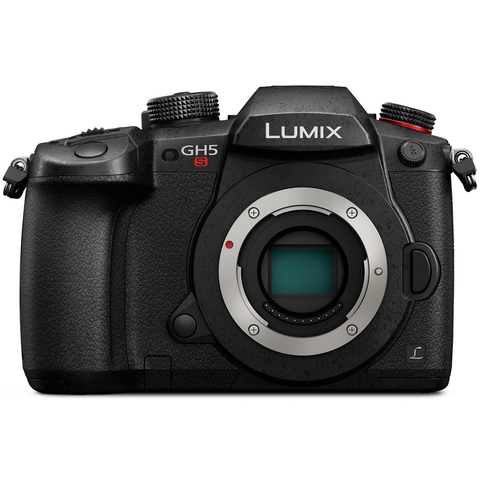 Panasonic Lumix DC-GH5S Mirrorless Micro Four Thirds Digital Camera (Body Only) by Panasonic at B&C Camera