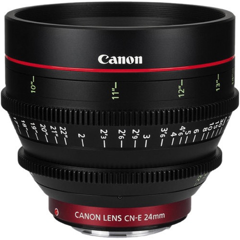 Canon CN-E 24mm T1.5 L F Cine Lens by Canon at B&C Camera