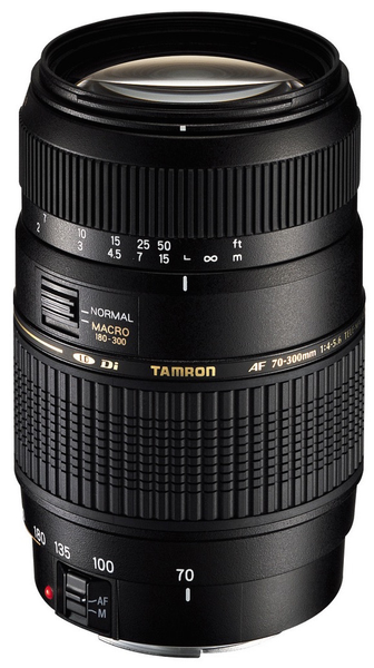 Tamron 70-300mm F/4-5.6 Di LD Lens for Canon - B&C Camera - 2