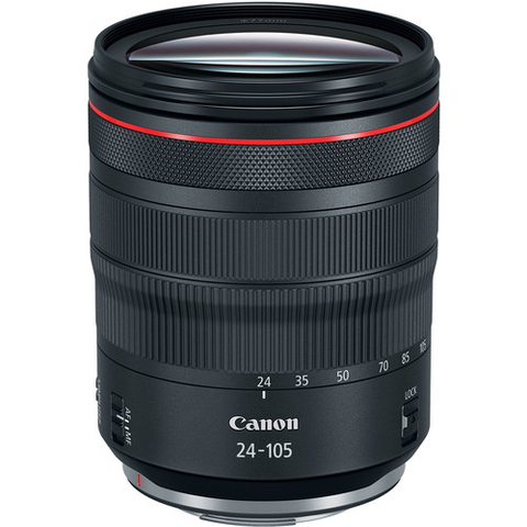 Canon RF 24-105mm f/4L IS USM Lens by Canon at bandccamera