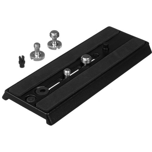 Manfrotto 357PLV Quick Release Plate for Video by Manfrotto at B&C Camera