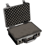 Pelican 1500 Case with Foam (Black) by Pelican at bandccamera