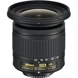 Nikon AF-P DX NIKKOR 10-20mm f/4.5-5.6G VR by Nikon at B&C Camera