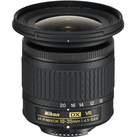 Nikon AF-P DX NIKKOR 10-20mm f/4.5-5.6G VR by Nikon at bandccamera