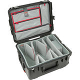 SKB iSeries 2217-10 Case with Think Tank Video Dividers & Lid Organizer (Black)