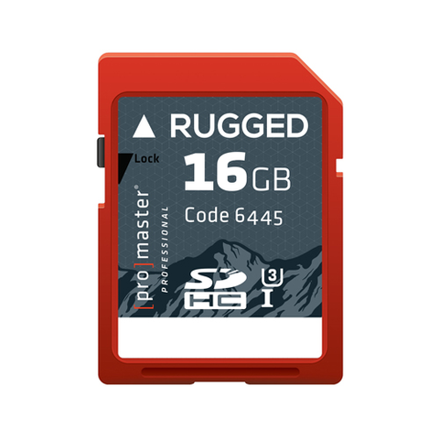 Promaster 16GB Professional Rugged SDHC Memory Card by Promaster at B&C Camera