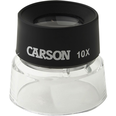Carson LL-10 LumiLoupe 10X Magnifier by Promaster at bandccamera