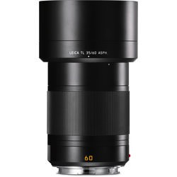 Leica APO-Macro-Elmarit-TL 60mm f/2.8 ASPH. Lens (Black) by Leica at bandccamera