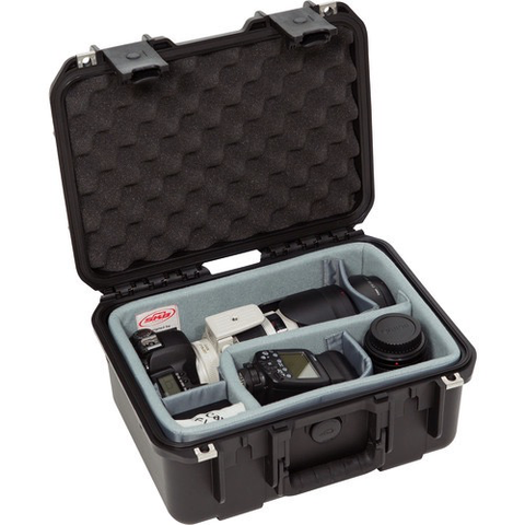 SKB iSeries 1309-6 Case w/Think Tank Designed Photo Dividers & Lid Foam (Black)