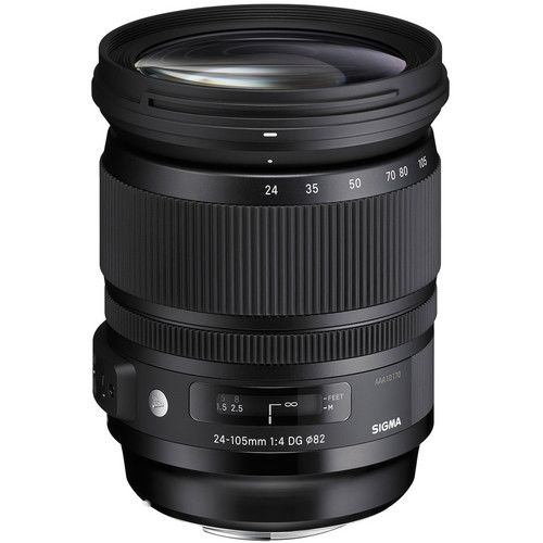 Sigma 24-105mm F4 DG (OS)* HSM Art Lens for Canon by Sigma at bandccamera