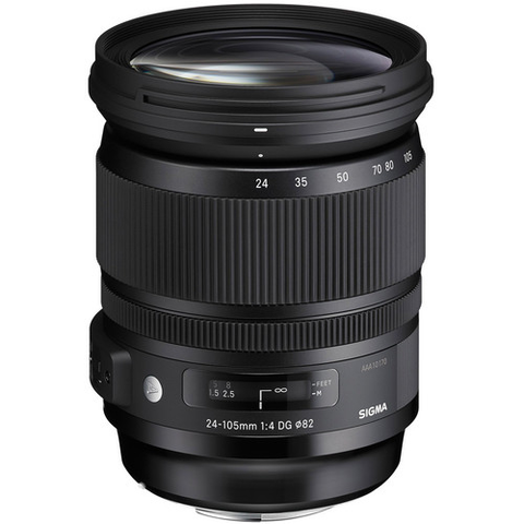 Sigma 24-105mm F4 DG (OS)* HSM Art Lens for Canon