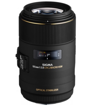 Sigma 105mm F2.8 EX DG OS HSM Macro Lens for Canon