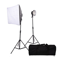 Promaster VL380 2-Light Portable LED Studio Kit - B&C Camera