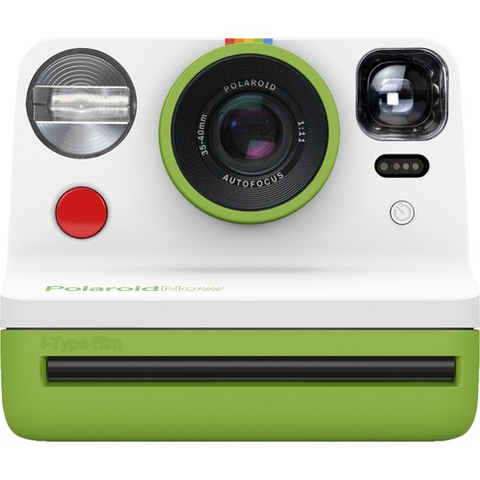 Polaroid Now Instant Film Camera (Green)