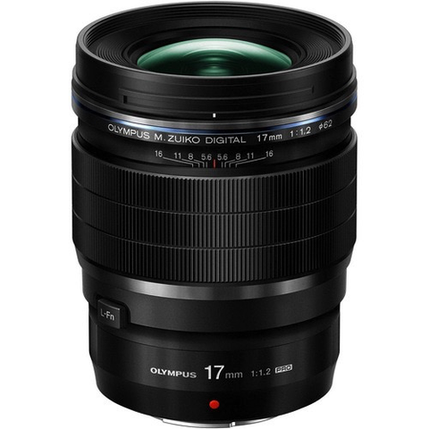 Olympus M.Zuiko Digital ED 17mm f/1.2 PRO Lens by Olympus at B&C Camera