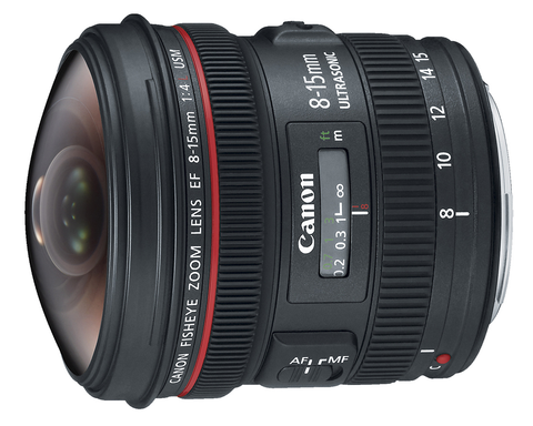 Canon EF 8-15mm f/4L Fisheye USM by Canon at B&C Camera