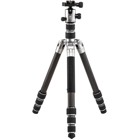 Benro Tripster Travel Tripod (2 Series, Titanium, Carbon Fiber) by Benro at bandccamera