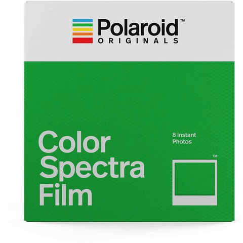 Polaroid Originals Color Spectra Instant Film (8 Exposures) by Polaroid at bandccamera
