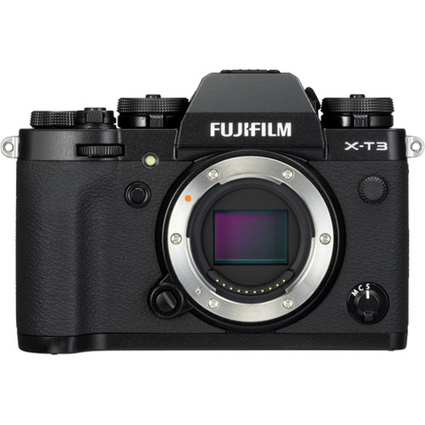 Fujifilm X-T3 Mirrorless Digital Camera (Body Only, Black) by Fujifilm at bandccamera