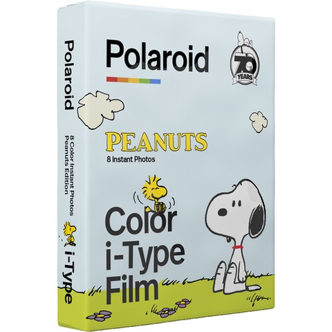 Polaroid Color i-Type Instant Film (Peanuts Edition, 8 Exposures)