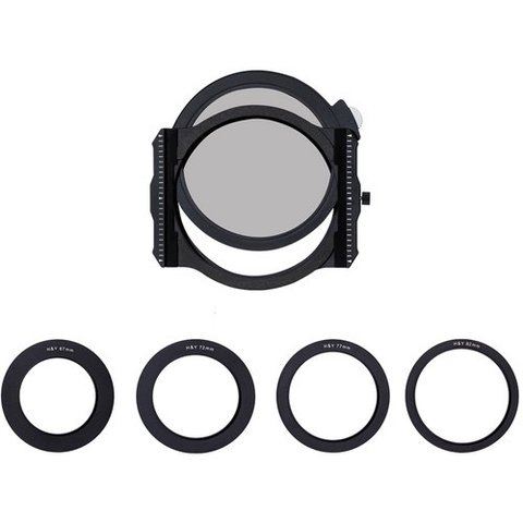 H&Y Square Filter Holder with Circular Polarizer and adapter rings by Promaster at B&C Camera