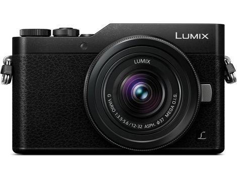 Panasonic Lumix DC-GX850 Micro Four Thirds Mirrorless Camera with 12-32mm Lens (Black) by Panasonic at B&C Camera