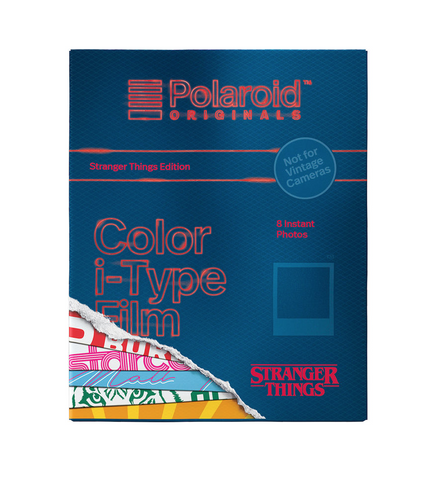Polaroid Originals Color i-Type Instant Film (Stranger Things Edition, 8 Exposures) by Polaroid at B&C Camera