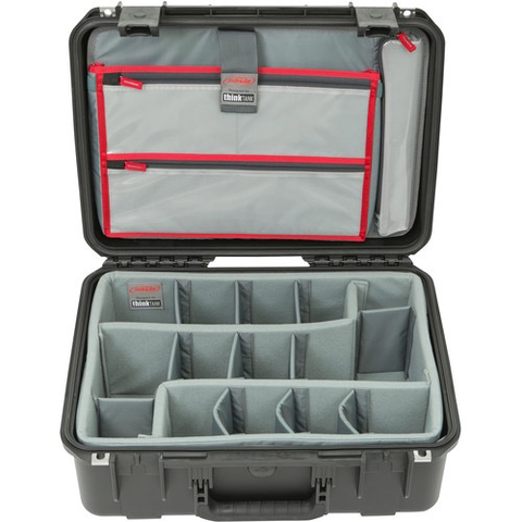 SKB iSeries 1813-7 Case with Think Tank-Designed Photo Dividers & Lid Organizer (Black)