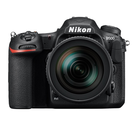 Nikon D500 DSLR Camera with 16-80mm VR Lens by Nikon at B&C Camera