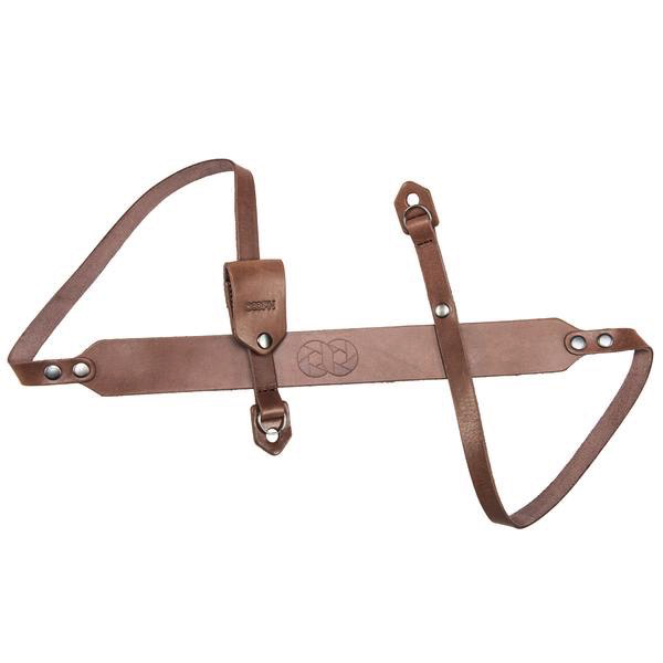 COOPH Camera Strap LEATHER   BROWN 98 CM