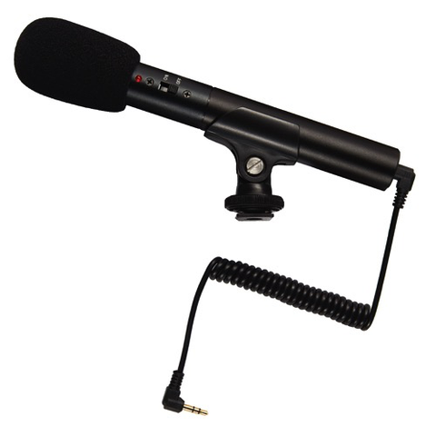 Promaster Compact Shotgun Microphone SGM1 by Promaster at bandccamera