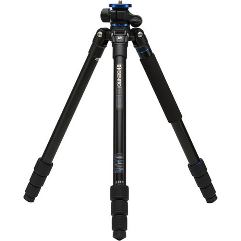Benro FGP28A Go Plus 4-Section Aluminum Travel Tripod by Benro at bandccamera