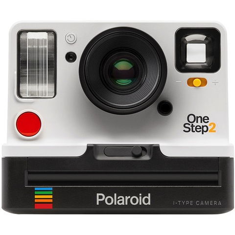 Polaroid Originals OneStep2 Instant Film Camera with Viewfinder (White)