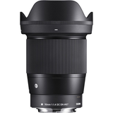 Sigma 16mm f/1.4 DC DN Contemporary Lens for Canon EF-M by Sigma at B&C Camera