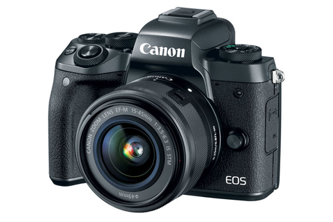 Canon EOS M5 EF-M 15-45mm f/3.5-6.3 IS STM Lens Kit by Canon at B&C Camera