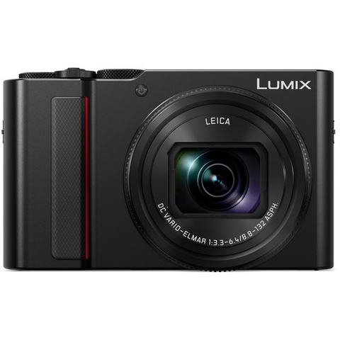 Panasonic Lumix DC-ZS200 Digital Camera (Black) by Panasonic at B&C Camera